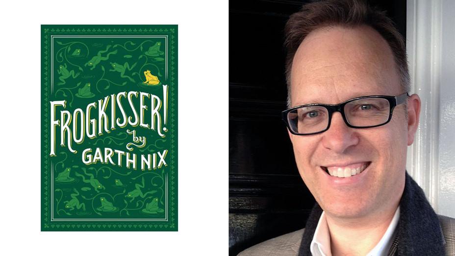 FROGKISSER! Book Cover and Garth Nix Split - Publicity - H 2016