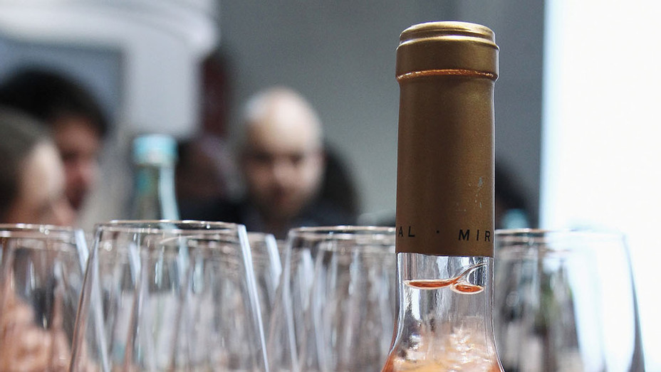 The Winebottle Miraval Rose 2012 - Getty -P 2016