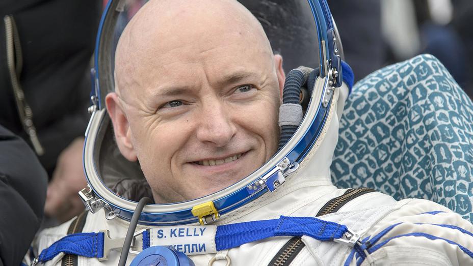 Commander Scott Kelly of NASA -outside of the Soyuz TMA-18M spacecraft - Getty -H 2016