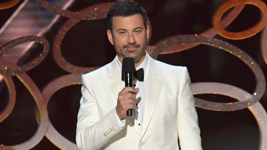 Jimmy Kimmel speaks onstage during the 68th Annual Primetime Emmy Awards - Getty - H 2016