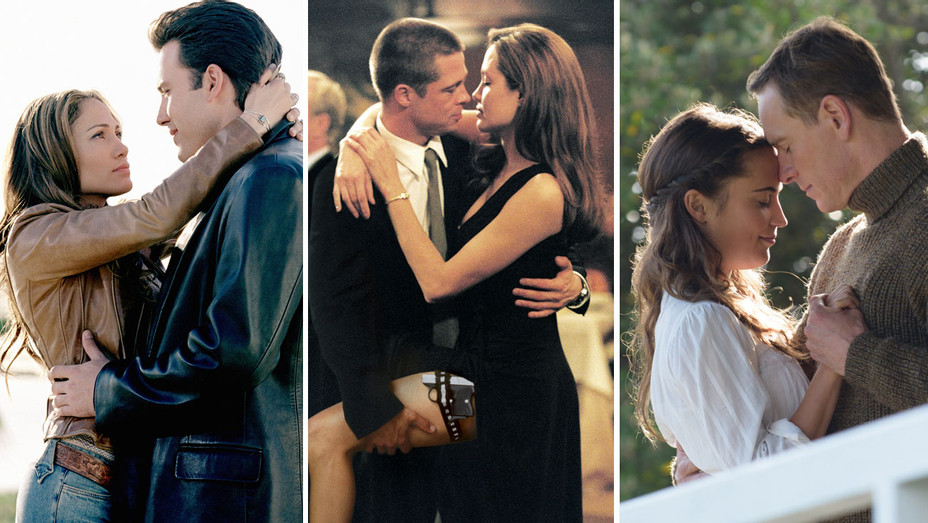 From Gigli To Mr Mrs Smith When Onscreen Couples Fall In Love In Real Life Hollywood Reporter