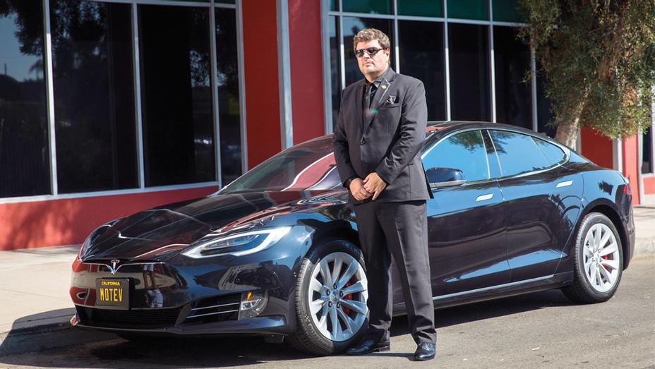 Morgan Freeman's Driver Launches New Boutique Black-Car Service -Tesla Fleet - Publicity-H 2016