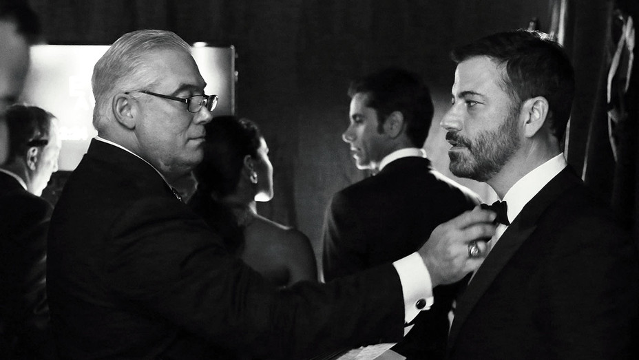 Jimmy Kimmel is seen backstage at the 67th Primetime Emmy Awards - AP - H 2016