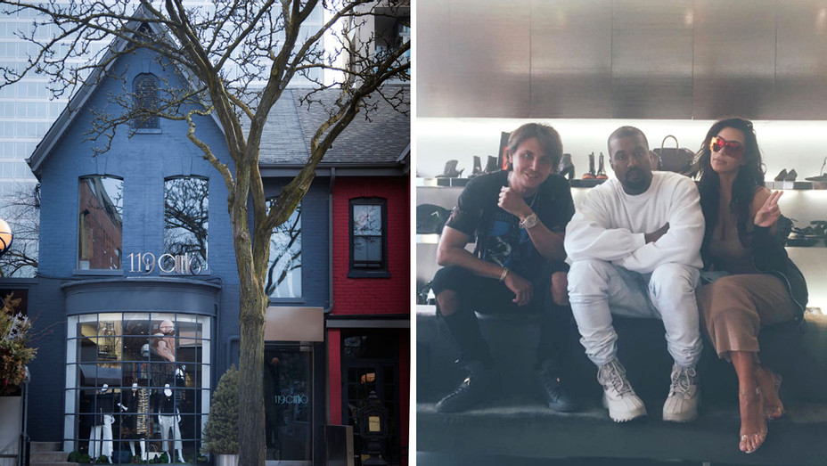 Johnathan Cheban - Kanye West - Kim Kardashian - Store - Split - 2016