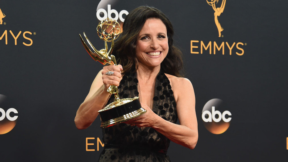 Julia Louis-Dreyfus Emmy - Getty - H 2016