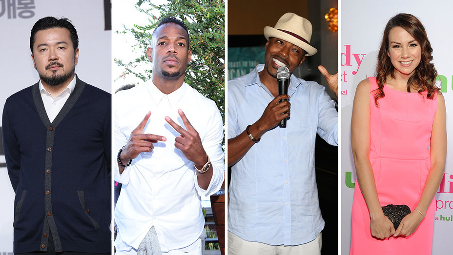 Justin Lin, Marlon Wayans, Will Packer and Tracey Wigfield_Split - Getty - H 2016