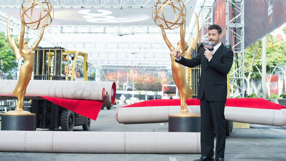 Kimmel Red Carpet Emmy - H - 2016