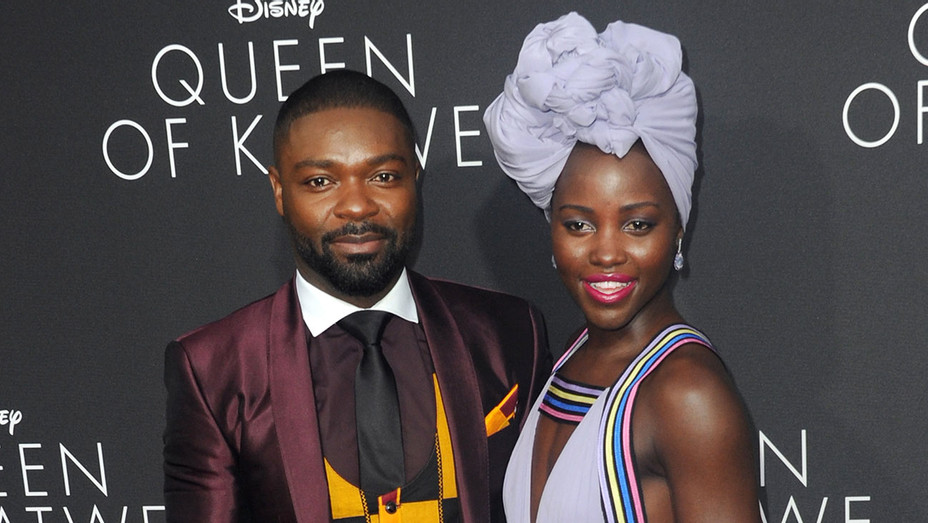 Lupita Nyong'o and David Oyelowo - Queen of Katwe - Getty - H - 2016
