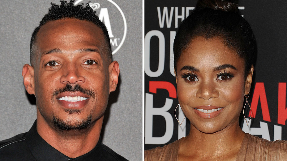 Marlon Wayans and Regina Hall - Split - H - 2016