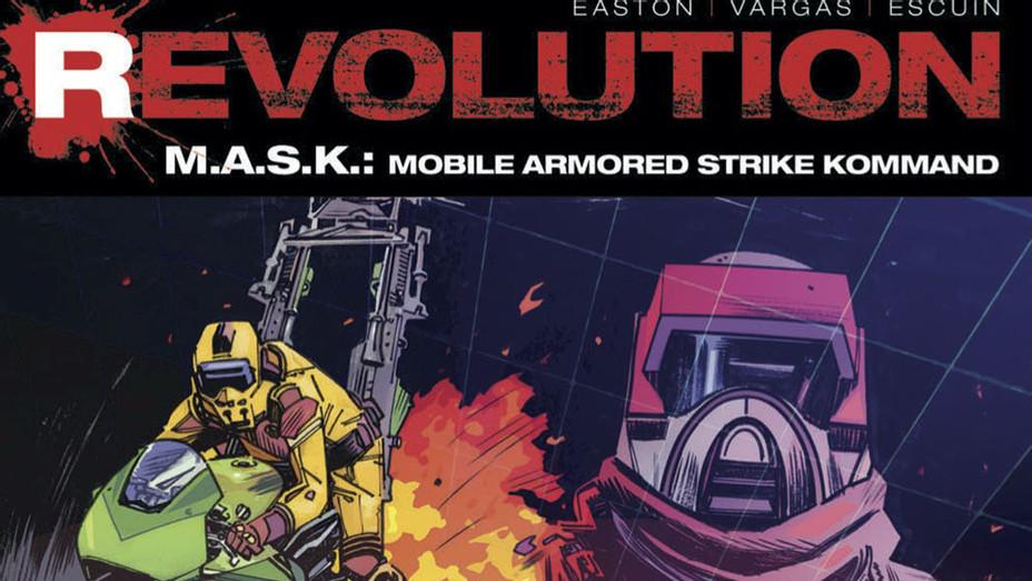 Revolution MASK Cover - IDW Publishing - Publicity - P 2016