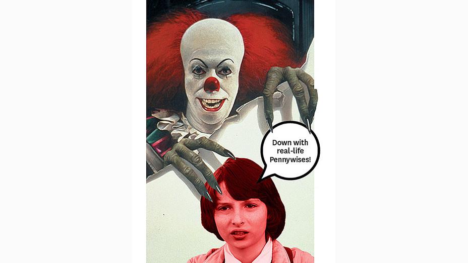 Stephen King's 'It' Movie Producer Denies Creepy Clown Stunt- H 2016