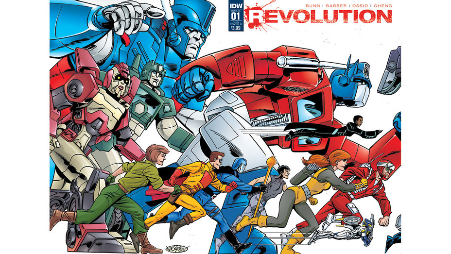 Revolution Cover - IDW Publishing - Publicity - H 2016