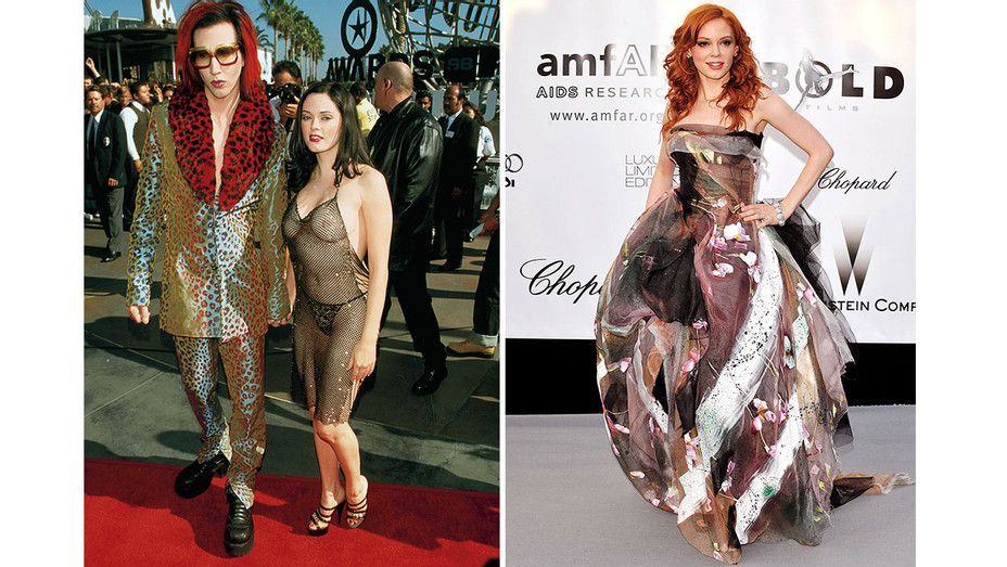 Rose McGowan- The Red Carpet Can Be Like Visual Rape Split-Getty- One-Time-Use- H 2016