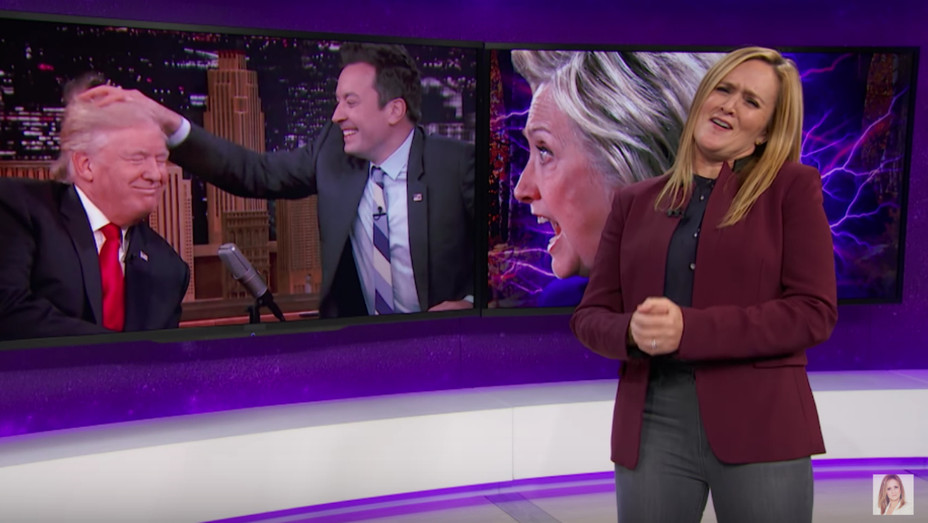 Samantha Bee on Fallon — H 2016