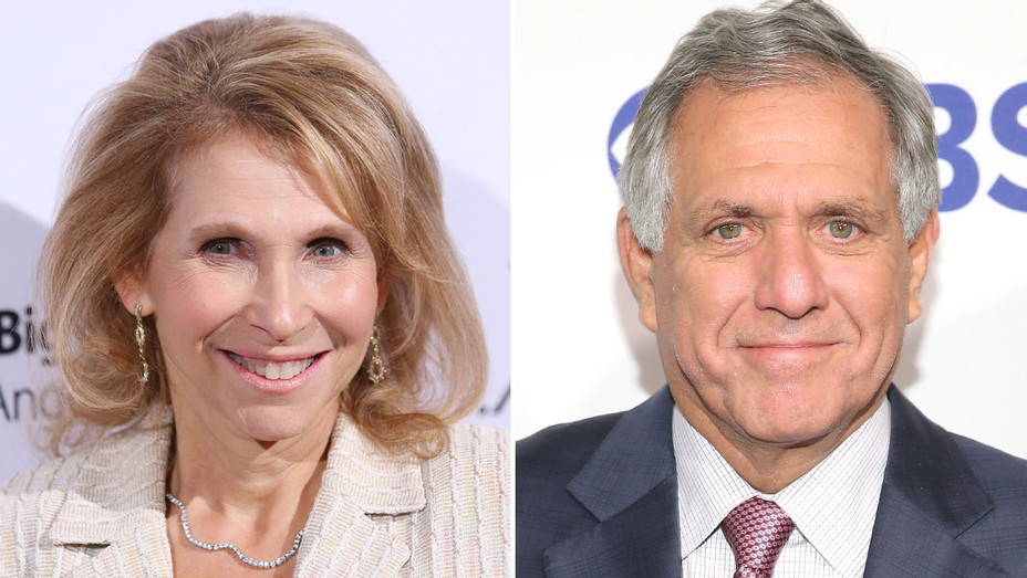 Shari Redstone Les Moonves - Split - H - 2016