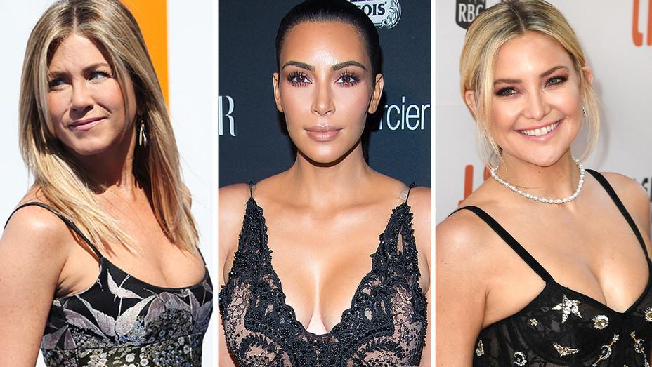Jennifer Aniston - Kim Kardashian -Kate Hudson -Split- Getty - H 2016