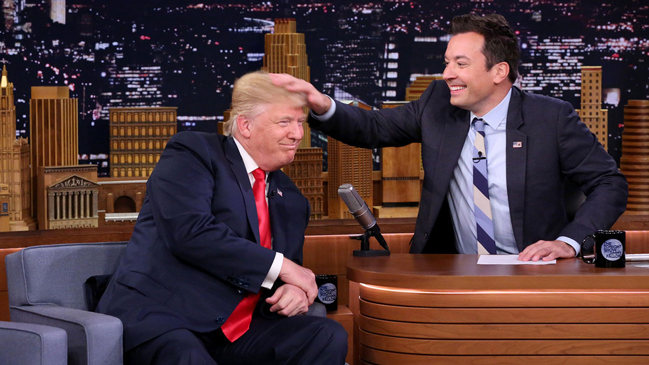 THE TONIGHT SHOW STARRING JIMMY FALLON Trump 1 - Publicity - H 2016