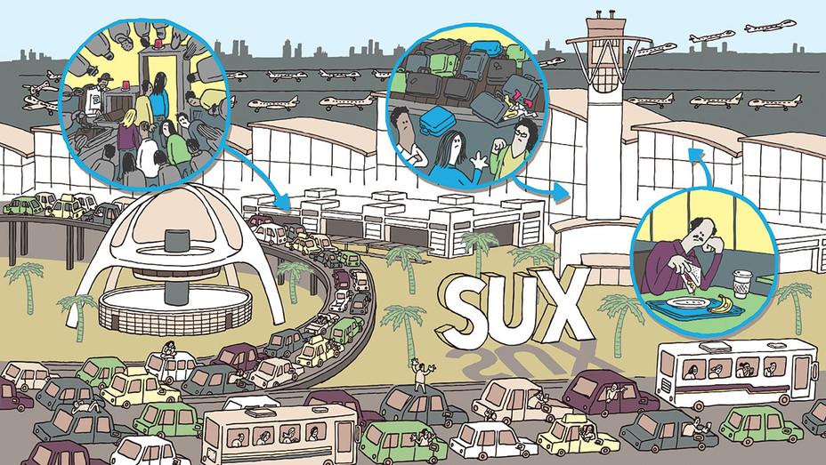 The Agony of LAX - Illo - H 2016