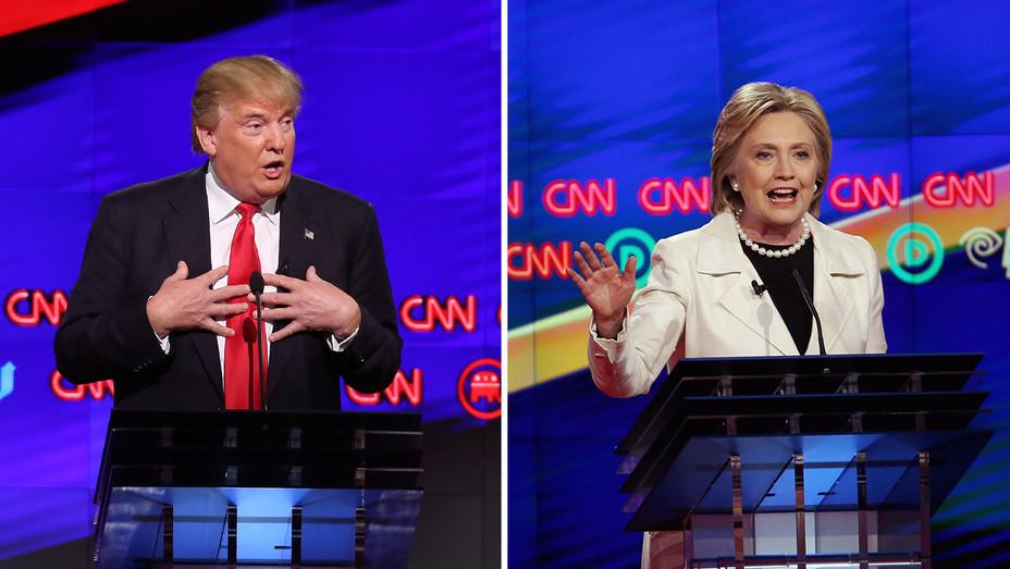 Trump and Hillary_Split - Getty - H 2016
