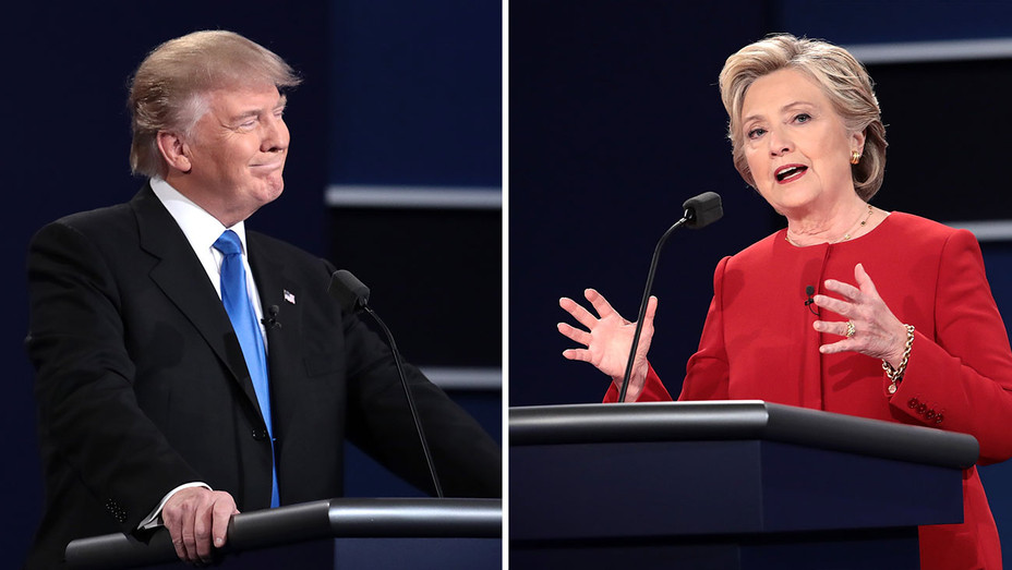 Trump_Clinton_Debate_Split - Getty - H 2016