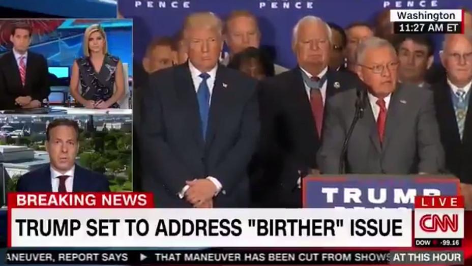 Trump's birther press conference a political rickroll-Screen Shott - H 2016