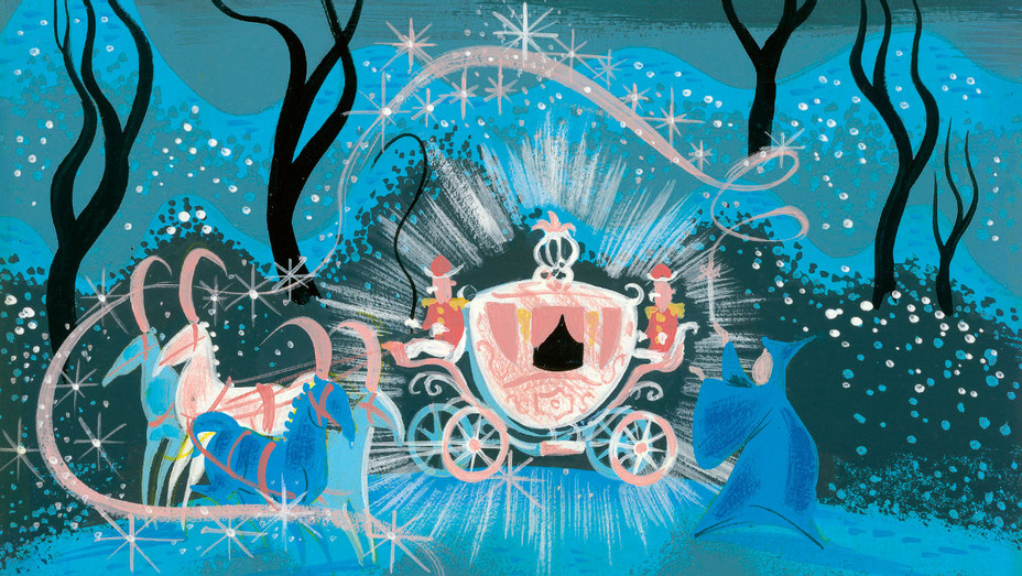 Mary Blair's - Cinderella -gouache influence - Publicity -H 2016