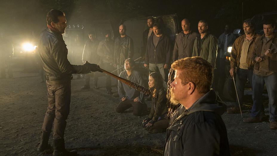 The Walking Dead Season 7 Premiere - Negan and Abraham - H Publicity 2016