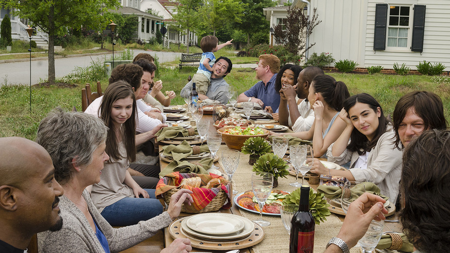 The Walking Dead Season 7 Premiere - Sunday Dinner - H Publicity 2016