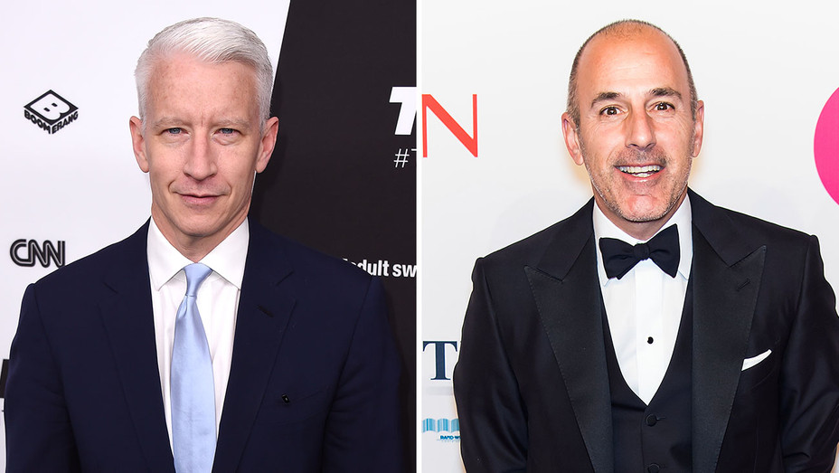 Anderson Cooper_Matt Lauer_Split - Getty - H 2016