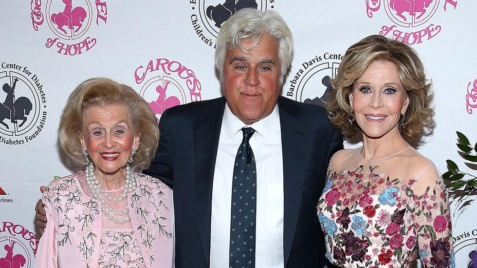 Barbara Davis - Jay Leno - Jane Fonda - 2016 Carousel Of Hope Ball - H - 2016