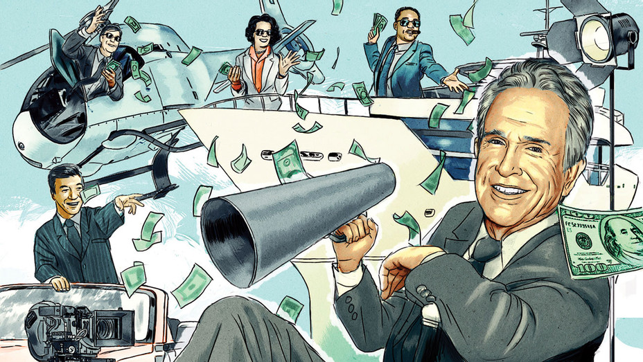 Why Warren Beatty's New Movie Has 16 Credited Producers  - illo -H 2016
