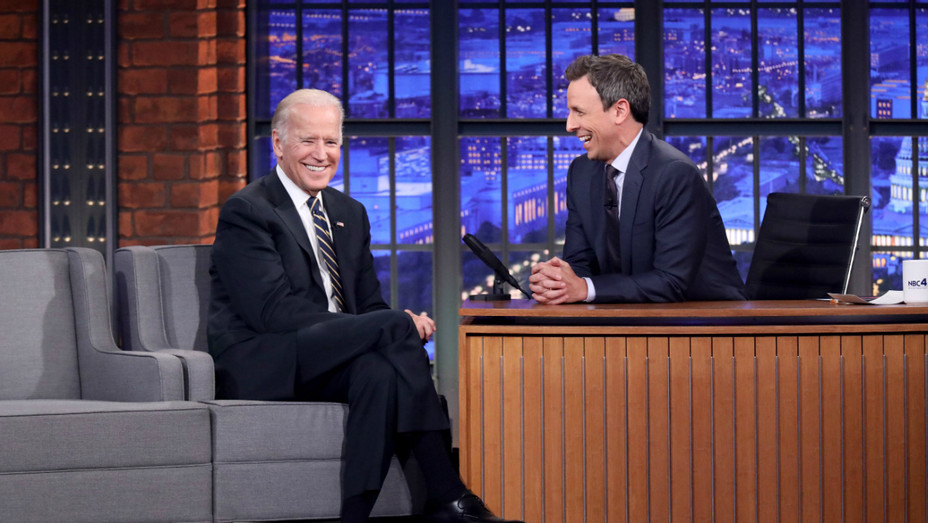 Joe Biden on Seth Meyers Late Night - Publicity - H 2016
