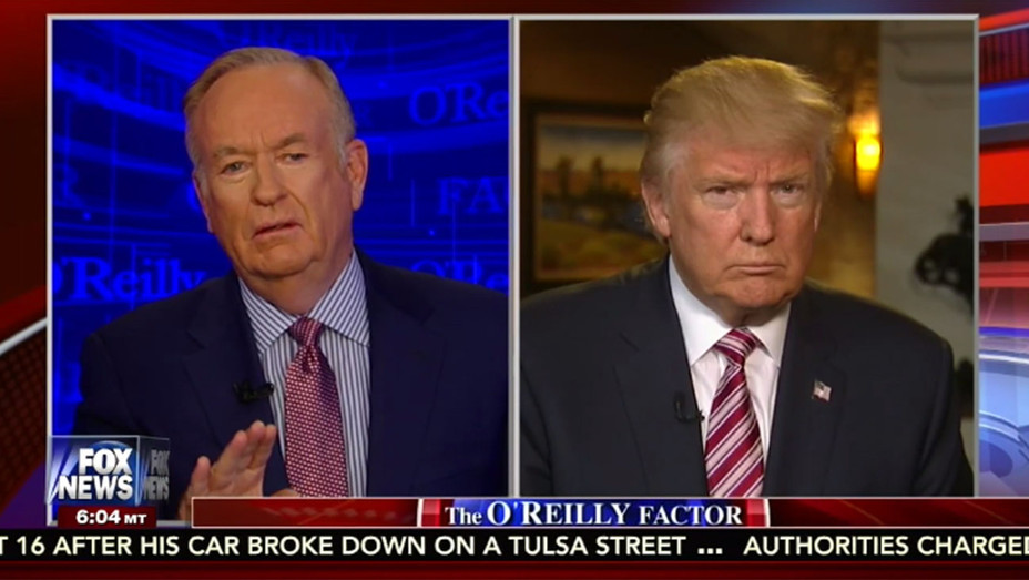 Bill O'reilly - Donald Trump - Screenshot - H - 2016