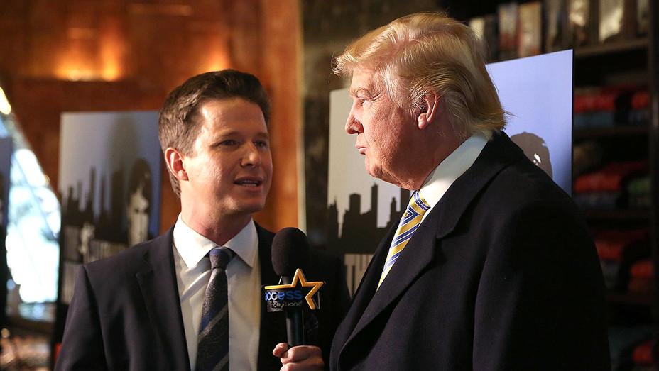 Billy Bush and Donald Trump - Celebrity Apprentice Event - Getty - H - 2016