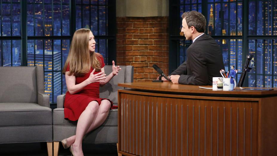 Chelsea Clinton on Seth Meyers - Publicity - H 2016