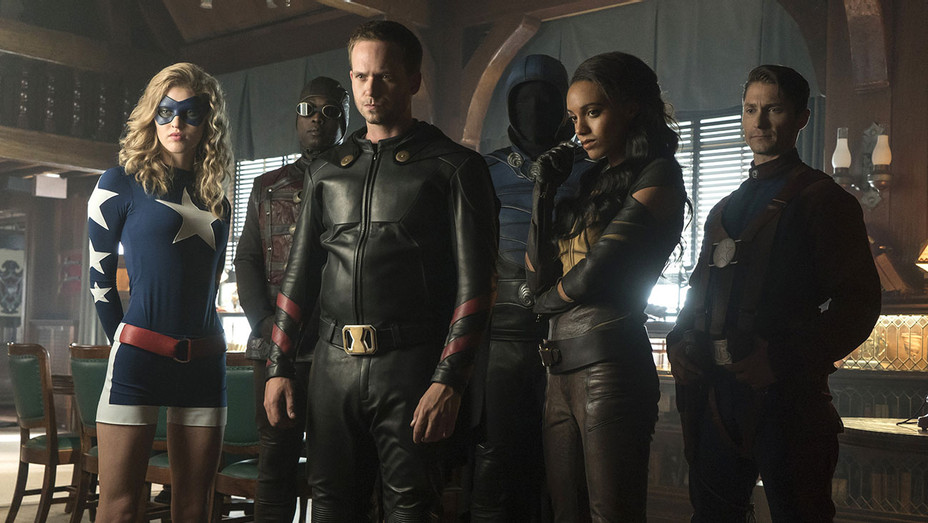 DC's Legends of Tomorrow - The Justice Society of America - H - 2016