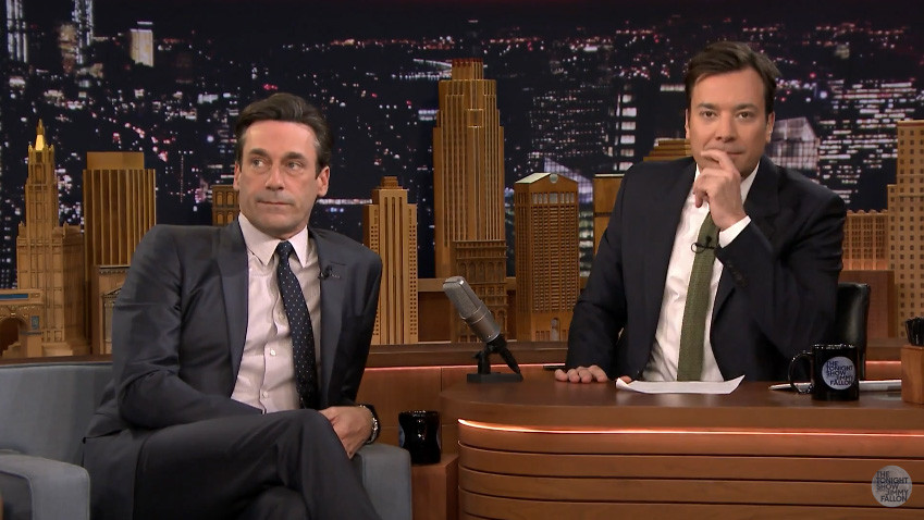 The Tonight Show With Jimmy Fallon - Jon Hamm Turtle Soap Opera - H 2016