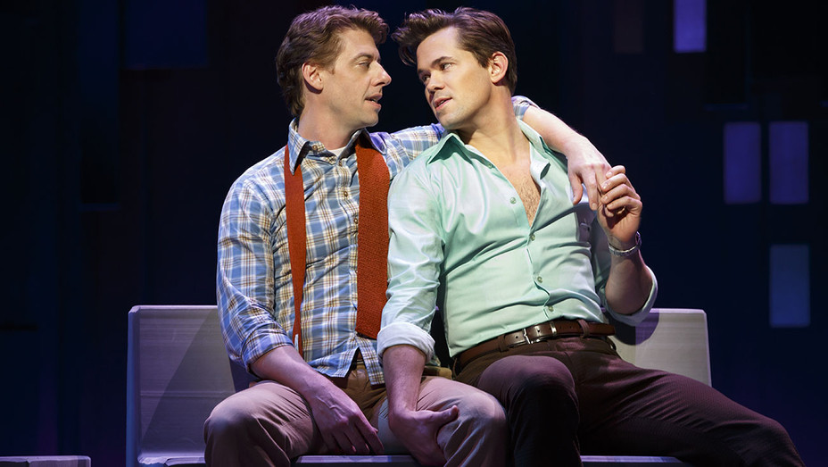 Falsettos - Christian Borle and Andrew Rannells - production still - H - 2016