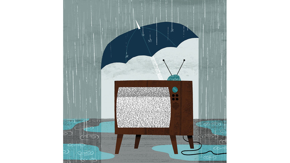 """How TV Can Weather the """"Skinny Bundle"""" Storm of Streaming Services -Illo -H 2016"""