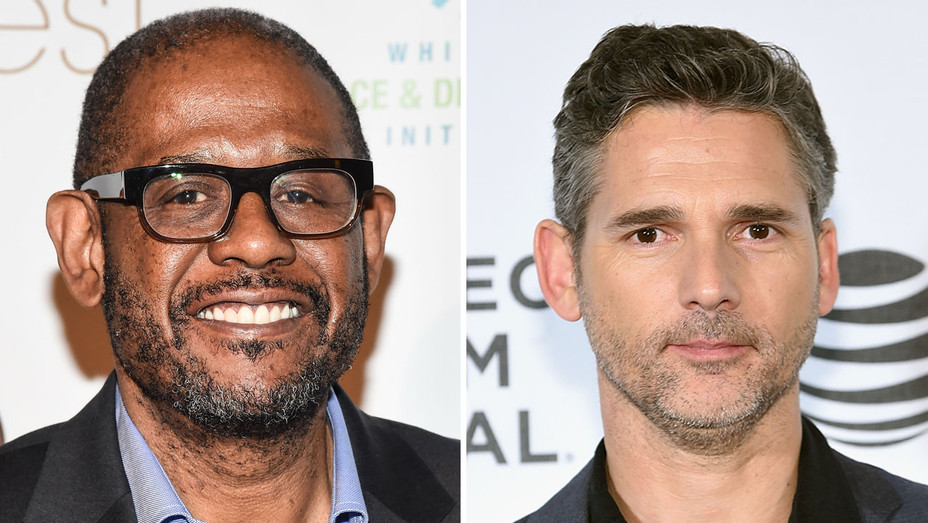 Forest Whitaker and Eric Bana - Split - H - 2016