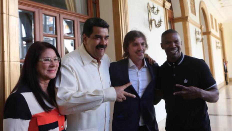 Nicolas Maduro, Lukas Haas, Jamie Foxx - Publicity - H 2016