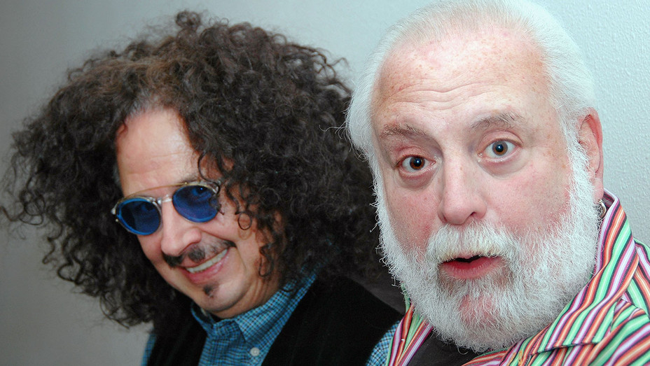 Mark Volman and Howard Kaylan of the 1960's pop-rock group The Turtles - Getty -H 2016