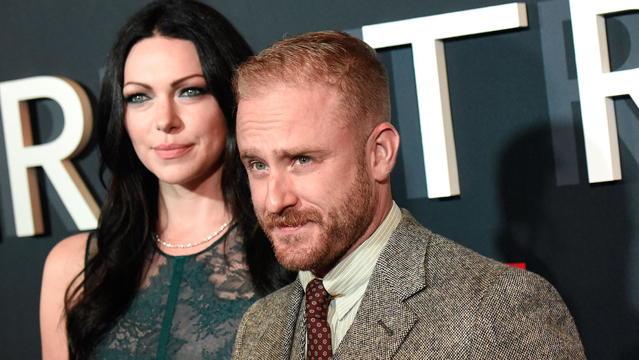 The Girl On The Train Premiere - Laura Prepon and Ben Foster - Getty - H 2016