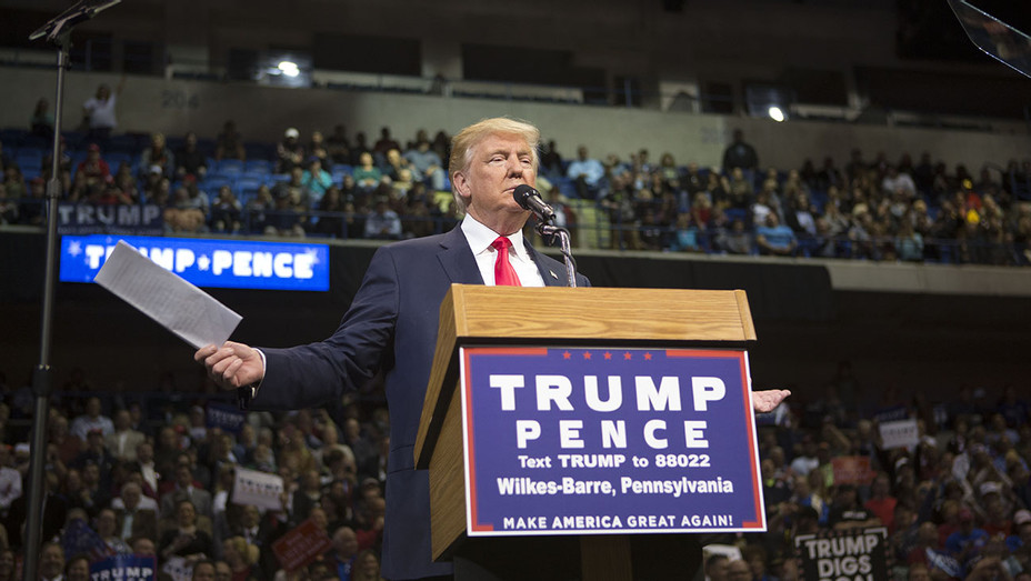 Donald Trump - campaign rally on October 10, 2016- Getty -H 2016