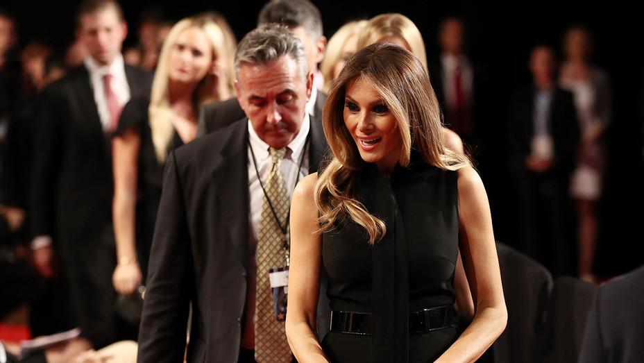 Melania Trump -  before the start of the third U.S. presidential debate - Getty -H 2016