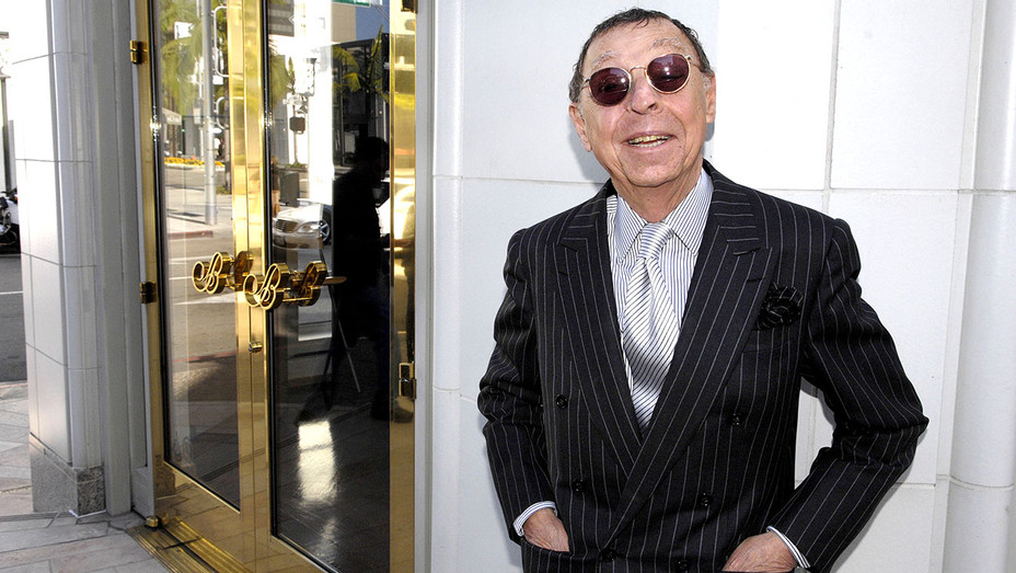James Galanos  at his Rodeo Drive Walk of Style induction ceremony - Getty -H 2016
