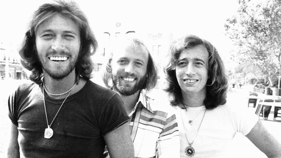 Bee Gees - on film set -Getty -H 2016