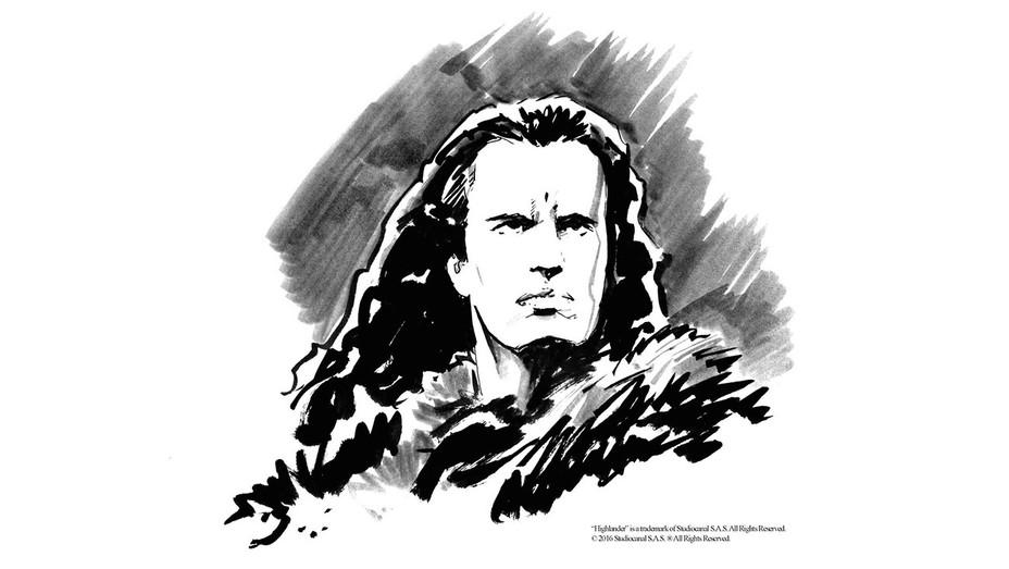 Highlander Art - IDW Publishing - Publicity - H 206