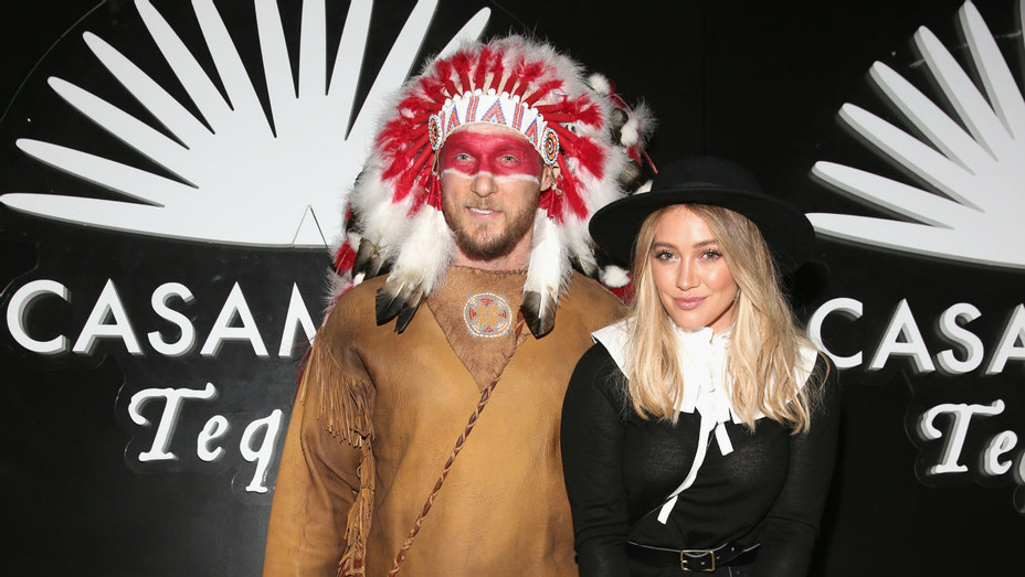 Hilary Duff and Jason Walsh - Getty - H 2016
