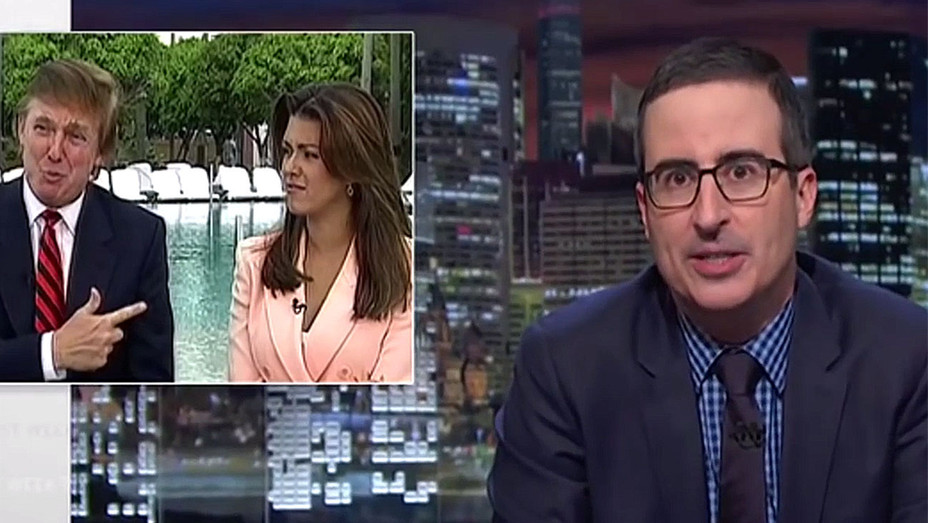 John Oliver's Alicia Machado Segment Shows -Screen shot - H 2016